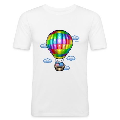 Heißluftballon - Männer Slim Fit T-Shirt