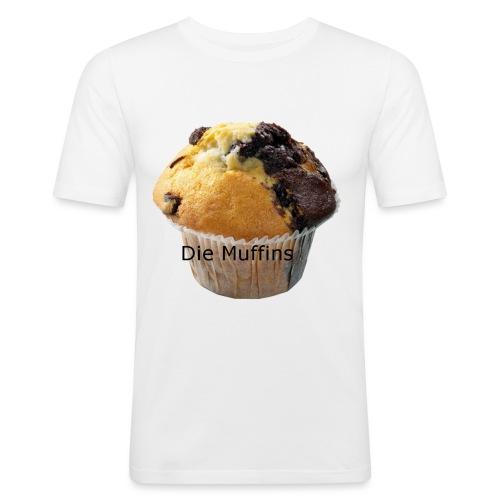 Die Muffins - Männer Slim Fit T-Shirt