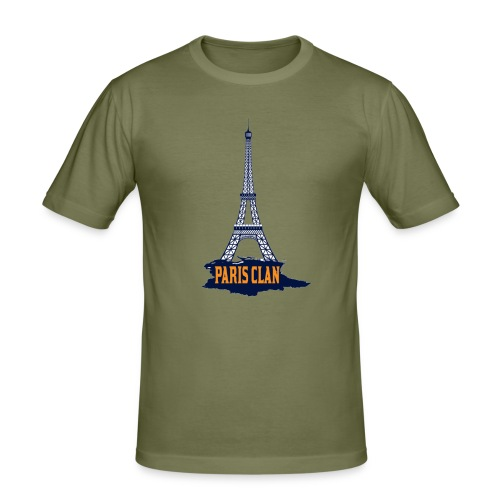 Paris Eiffel - Men's Slim Fit T-Shirt