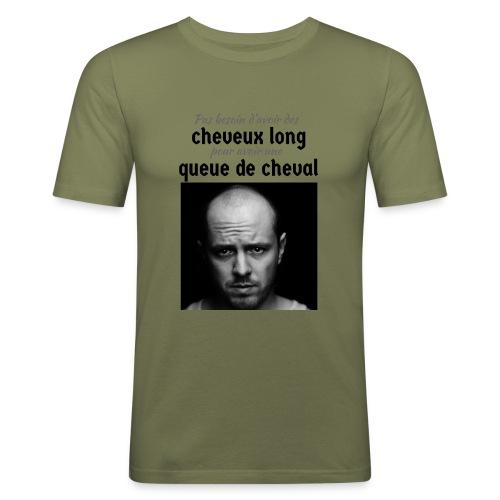 Humour Chauve ! - T-shirt près du corps Homme