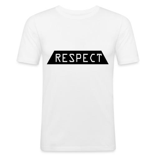 Respect - Slim Fit T-skjorte for menn