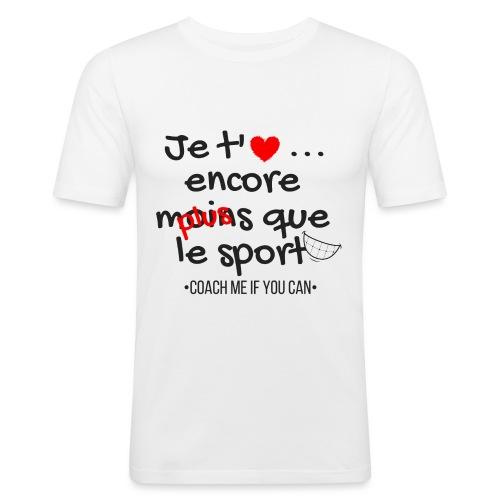 Saint Valentin - T-shirt près du corps Homme