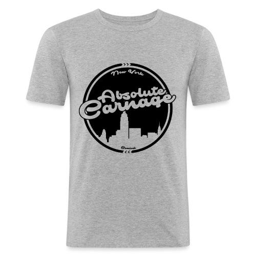 Absolute Carnage - Black - Men's Slim Fit T-Shirt