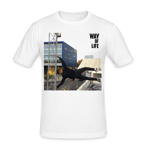 Way of life - Men's Slim Fit T-Shirt