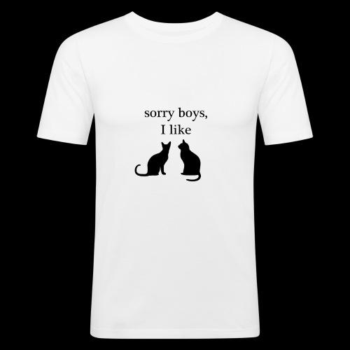 sorry boys - Obcisła koszulka męska