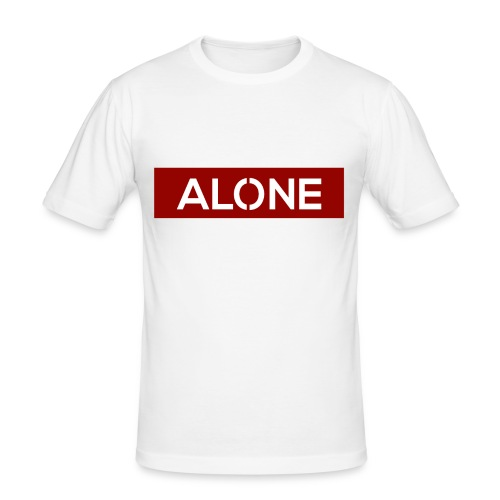 Alone RED Edition - Maglietta aderente da uomo