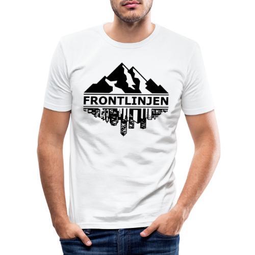 FRONTLINJEN - Slim Fit T-shirt herr
