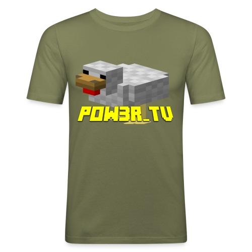 POW3R-IMMAGINE - Maglietta aderente da uomo