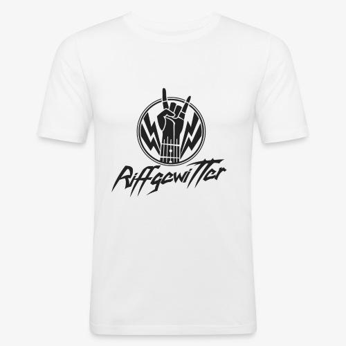 Riffgewitter - Hard Rock und Heavy Metal - Männer Slim Fit T-Shirt