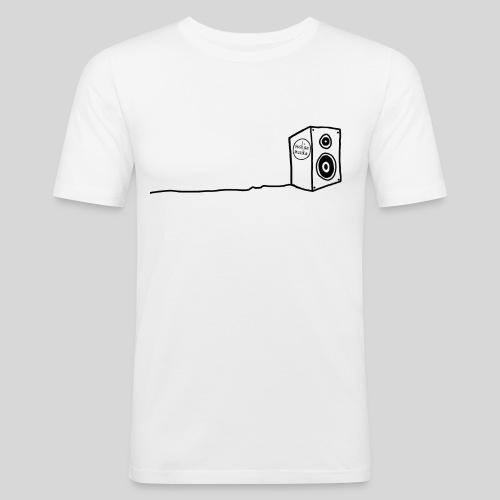 Sesh'sa Musika Official 'Speaker' Label logo - Men's Slim Fit T-Shirt