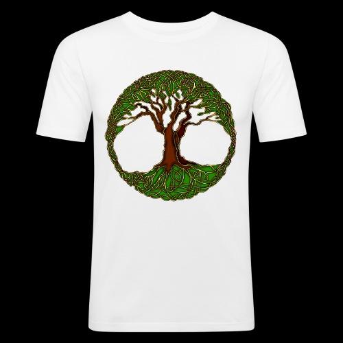 Tree of Life - colour - Men's Slim Fit T-Shirt