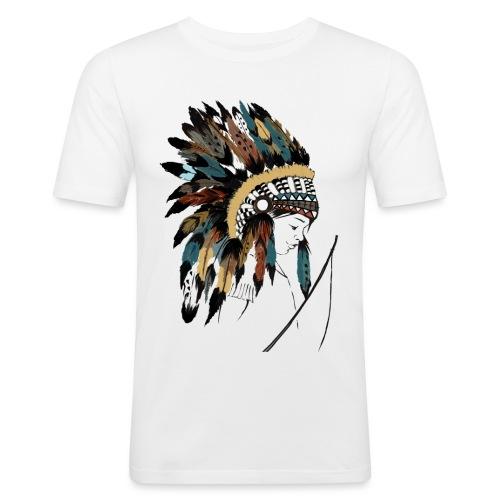 indian boy - T-shirt près du corps Homme