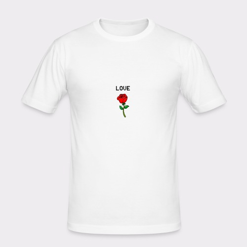 Love B. - Herre Slim Fit T-Shirt