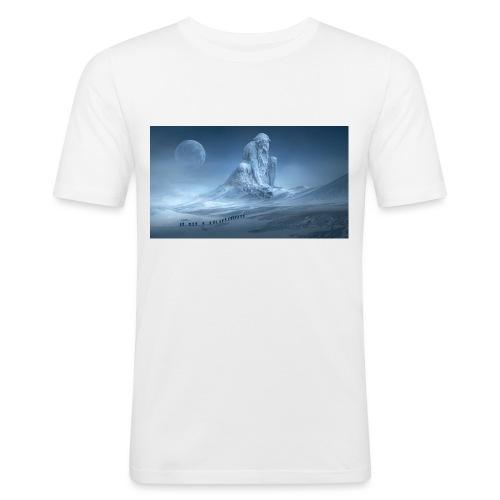 Glacier fantaisie - T-shirt près du corps Homme