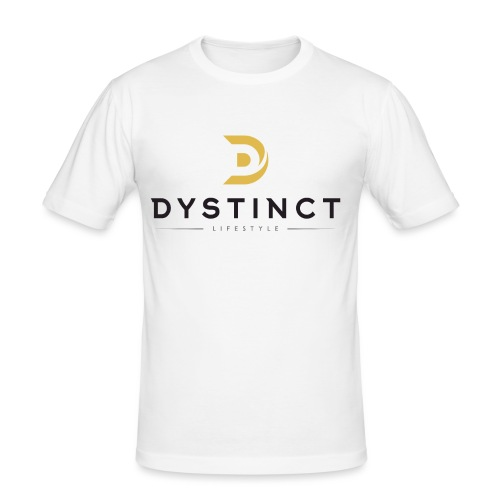 Dystinct Large Logo - Men's Slim Fit T-Shirt