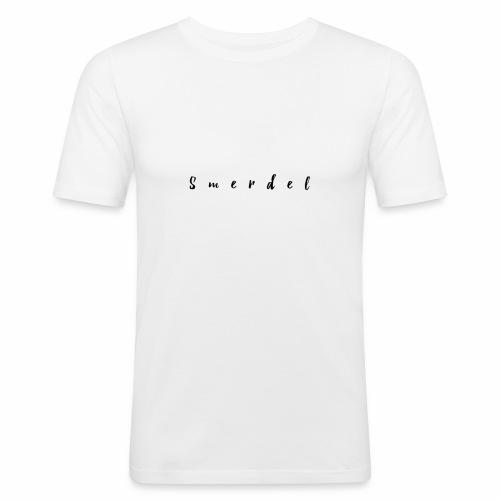 Smerdel - Mannen slim fit T-shirt