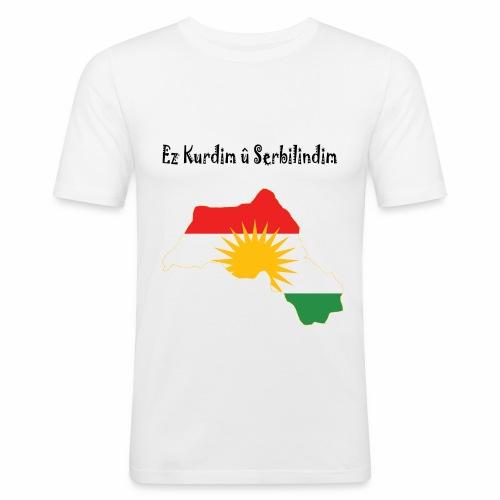 Ez kurdim u serbilindim - Slim Fit T-shirt herr