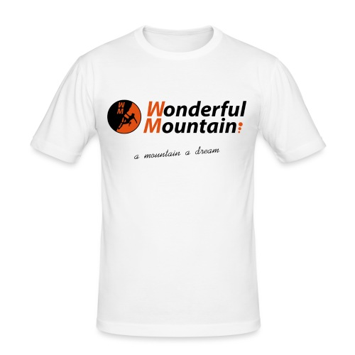 WM SLOGAN - Camiseta ajustada hombre
