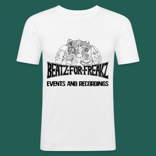 Beatzforfreakzeventsrecor - Männer Slim Fit T-Shirt