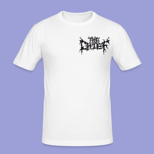 The Chief Metal Logo bw - Männer Slim Fit T-Shirt