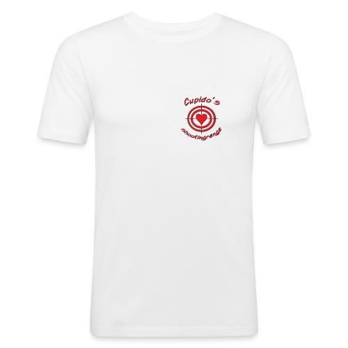 Cupidos shooting range - Slim Fit T-shirt herr