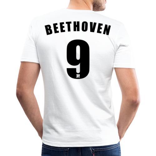 Beethoven 9 - Men's Slim Fit T-Shirt
