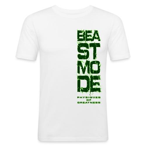beastmode letters - Men's Slim Fit T-Shirt