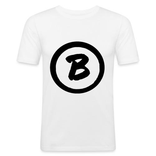 bluezed_ zwart - T-shirt près du corps Homme