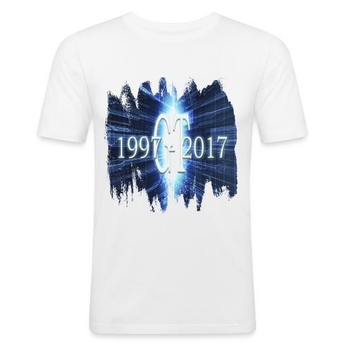 GuttaTur 20 years - Slim Fit T-skjorte for menn