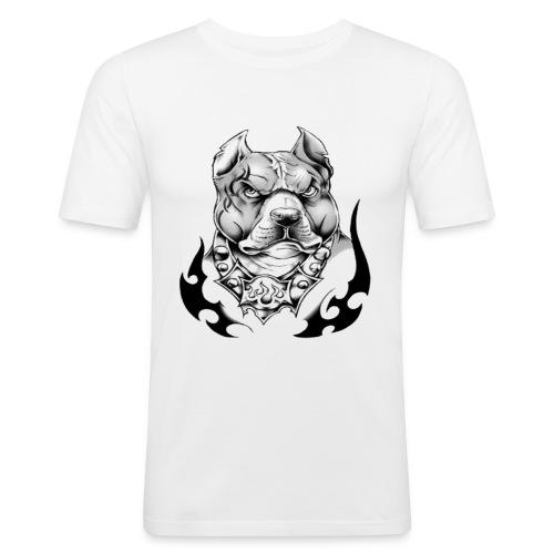 street pitt - T-shirt près du corps Homme