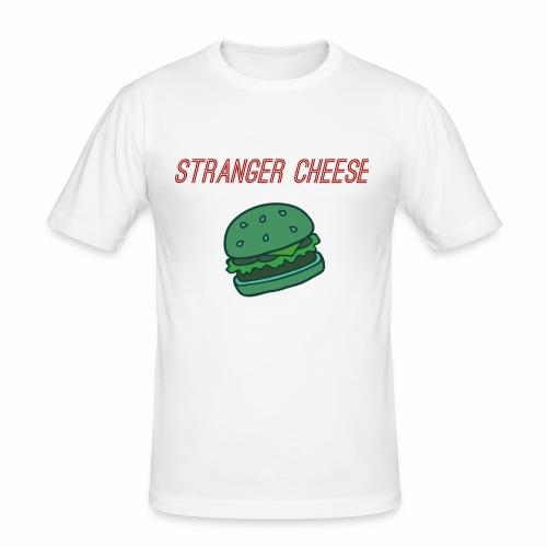 Stranger Cheese - T-shirt près du corps Homme