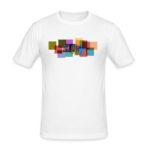 okoha board2 - T-shirt près du corps Homme