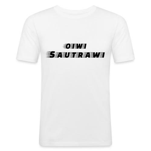 oiwi_sautrawi - Männer Slim Fit T-Shirt