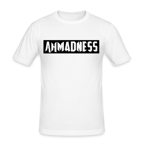 AhMADNESS Design T-Shirt - Men's Slim Fit T-Shirt