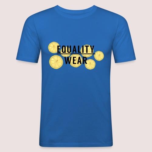 Equality Wear Fresh Lemon Edition - Men's Slim Fit T-Shirt
