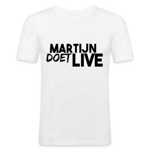 MartijnDoetLive - Mannen slim fit T-shirt