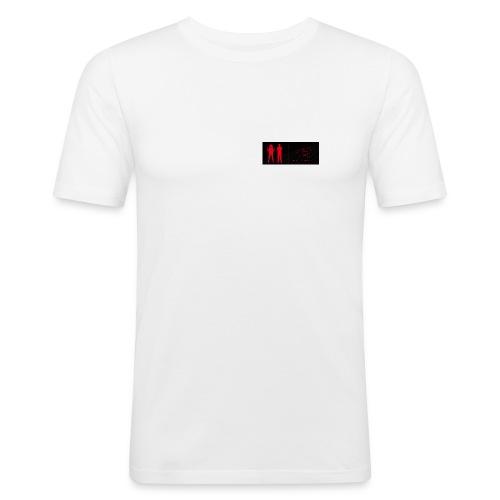 RR RedBox jpg - Men's Slim Fit T-Shirt