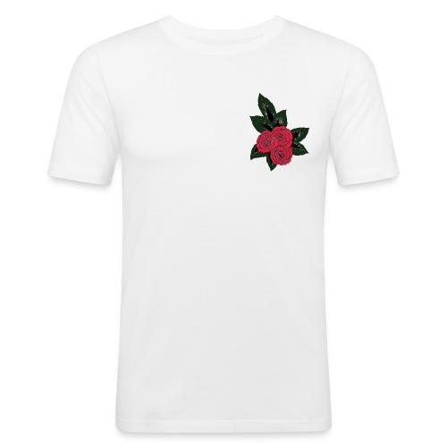 fleur du mal color - T-shirt près du corps Homme