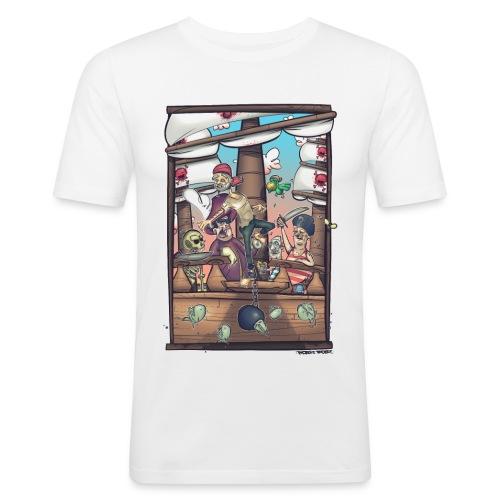 les pirates - T-shirt près du corps Homme