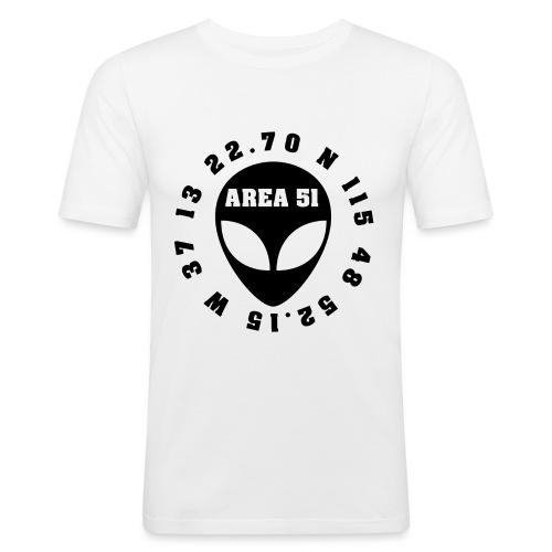 AREA51 - Camiseta ajustada hombre