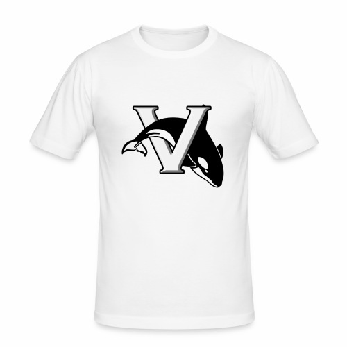 Men's Växjö Killer Whales Logo - Slim Fit T-shirt herr