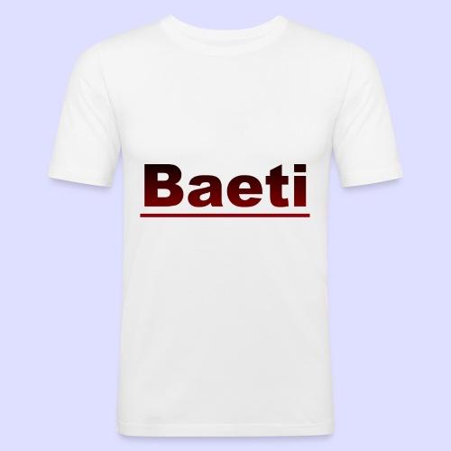 Baeti - Mannen slim fit T-shirt