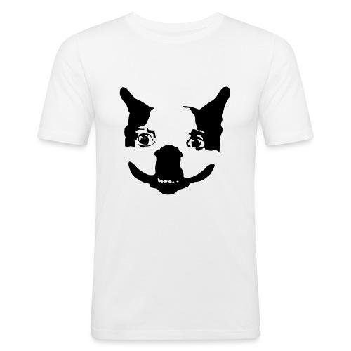 Lennu - Musta - Miesten tyköistuva t-paita