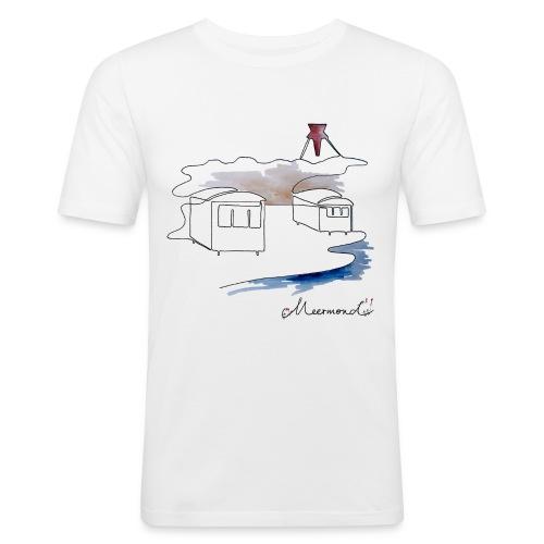 Blokhus 1 - logo - Herre Slim Fit T-Shirt