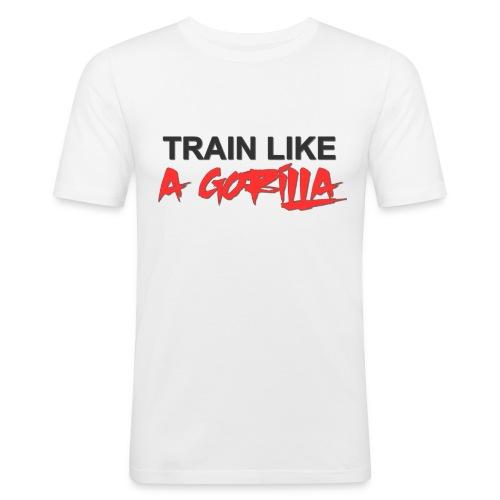 TRAIN LIKE A GORILLA - T-shirt près du corps Homme