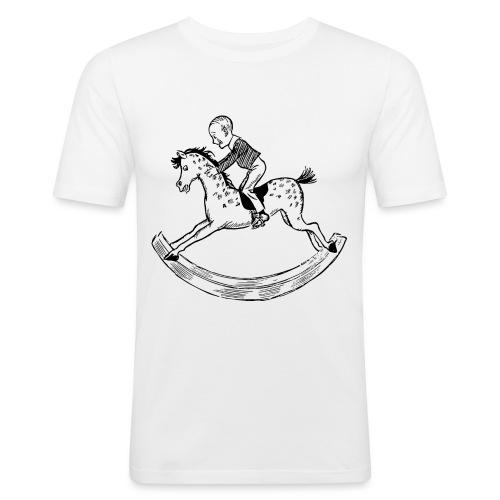 konik na biegunach - Obcisła koszulka męska