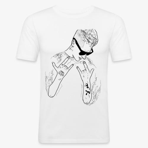 Rappresent Motiv Schwarz - Männer Slim Fit T-Shirt