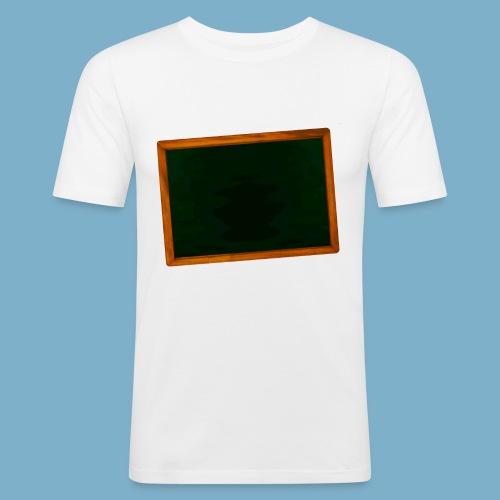 Schul Tafel - Männer Slim Fit T-Shirt