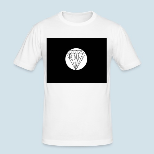 Toin clothing logo - Mannen slim fit T-shirt
