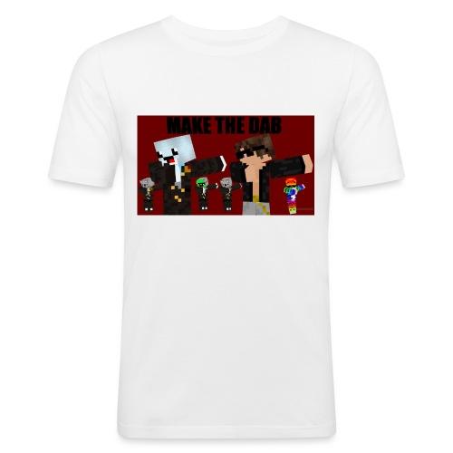 dab - Mannen slim fit T-shirt